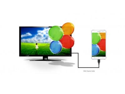 Đôi nét về MHL, Xuất tín hiệu điện thoại sang tivi HDMI