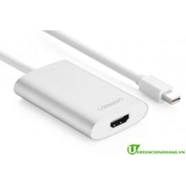 Cáp Mini displayport to HDMI Ugreen chính hãng hỗ trợ 4k*2k UG 10451