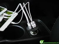 Sạc điện thoại trên xe hơi - Chia sẻ cách chọn mua củ sạc trên oto vừa đẹp vừa bền