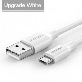 Cáp USB 2.0 to Micro USB, Dài 1m, Trắng - UGREEN 60141