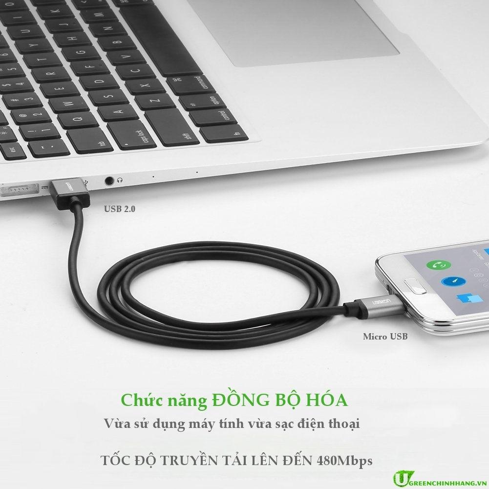 cap-micro-usb-ma-vang-dai-1-5m-ugreen-10825