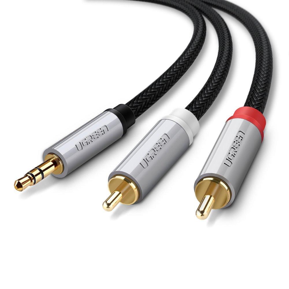cap-audio-3-5mm-sang-2-dau-rca-cao-cap-dai-3m-ugreen-40844